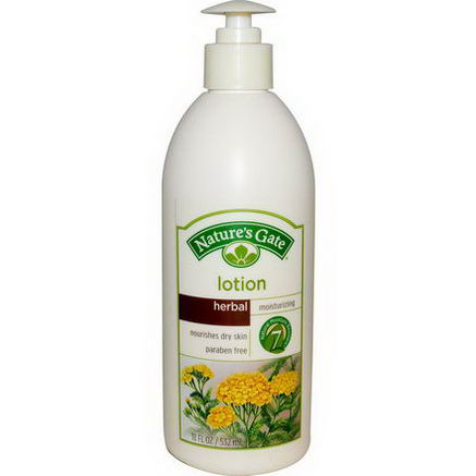 Nature's Gate, Lotion, Moisturizing, Herbal, 18 fl oz (532 ml)