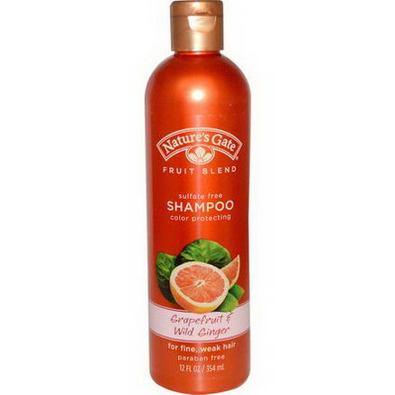 Nature's Gate, Shampoo, Color Protecting, Grapefruit & Wild Ginger, 12 fl oz (354 ml)