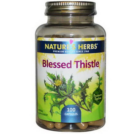 Nature's Herbs, Blessed Thistle, 100 Capsules