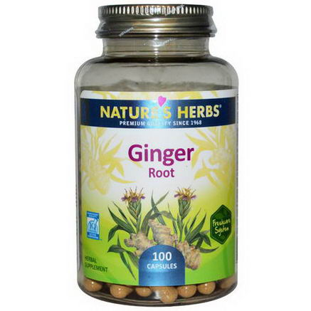 Nature's Herbs, Ginger Root, 100 Capsules