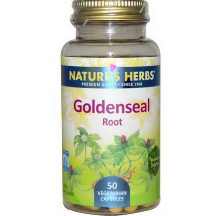 Nature's Herbs, Goldenseal Root, 50 Veggie Caps