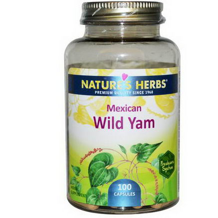 Nature's Herbs, Mexican Wild Yam, 100 Capsules