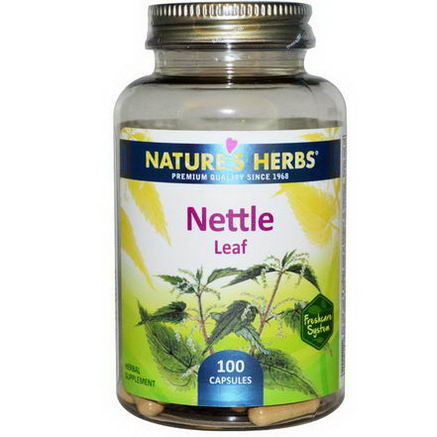 Nature's Herbs, Nettle Leaf, 100 Capsules