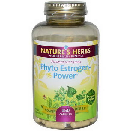 Nature's Herbs, Phyto Estrogen-Power, 150 Capsules