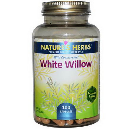 Nature's Herbs, White Willow, 100 Capsules