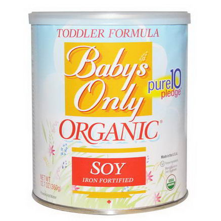 Nature's One, Toddler Formula, Soy, Iron Fortified, 12.7oz (360g)