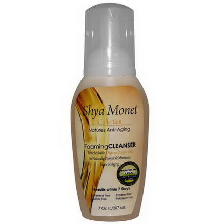 Nature's Paradise, Shya Monet Collection, Foaming Cleanser, 7 fl oz (207 ml)