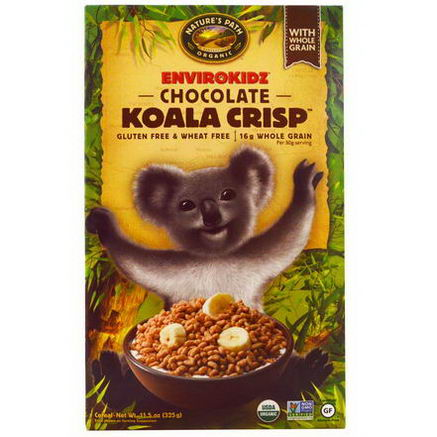 Nature's Path, EnviroKidz, Organic Chocolate Koala Crisp Cereal, 11.5oz (325g)