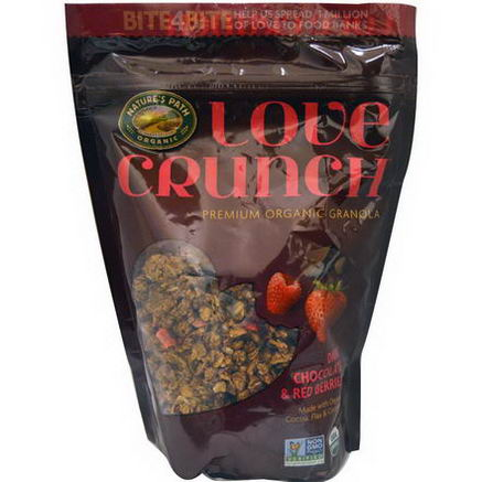 Nature's Path, Love Crunch, Premium Organic Granola, Dark Chocolate & Red Berries, 11.5oz (325g)