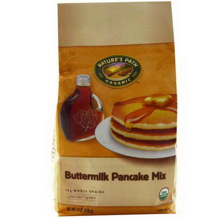 Nature's Path, Organic Buttermilk Pancake Mix, 26oz (738g)