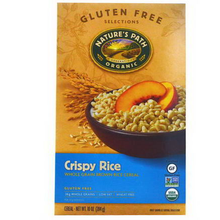 Nature's Path, Organic Crispy Rice Cereal, 10oz (284g)