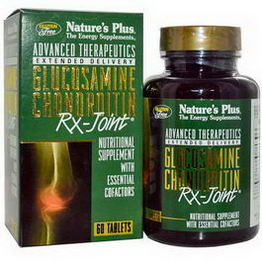 Nature's Plus, Advanced Therapeutic, Glucosamine Chondroitin Rx-Joint, 60 Tablets