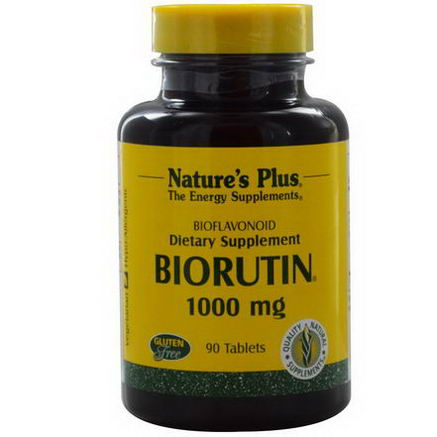 Nature's Plus, Biorutin, 1000mg, 90 Tablets