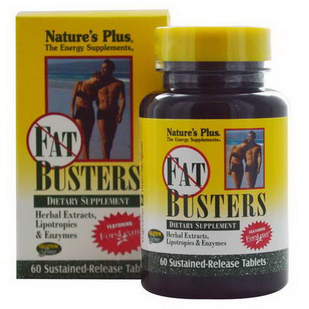Nature's Plus, Fat Busters, 60 Sustained-Release Tablets