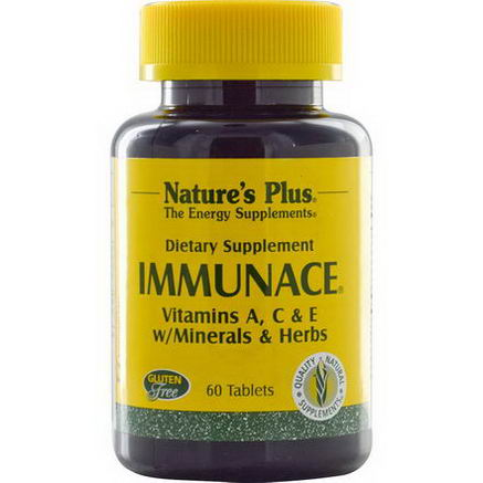 Nature's Plus, Immunace, 60 Tablets