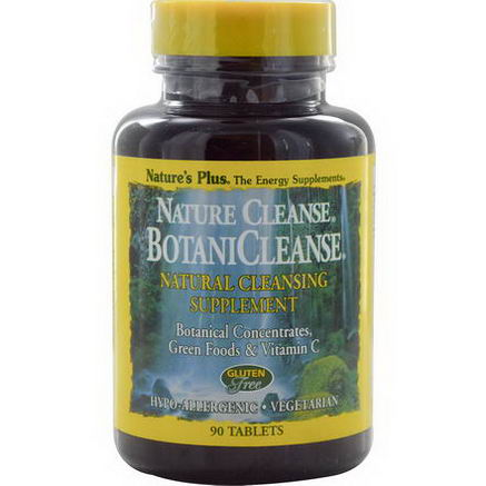 Nature's Plus, Nature Cleanse, BotaniCleanse, 90 Tablets