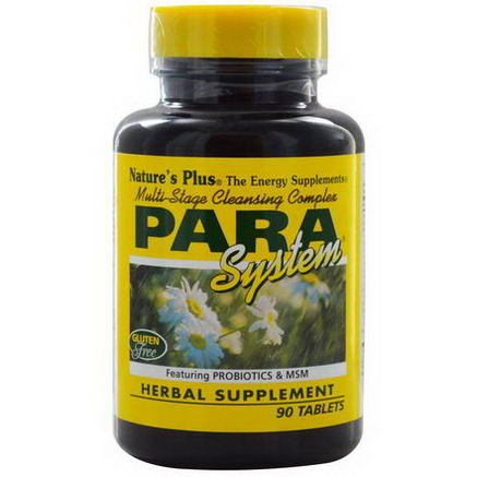 Nature's Plus, PARA System, Multi-Stage Cleansing Complex, 90 Tablets
