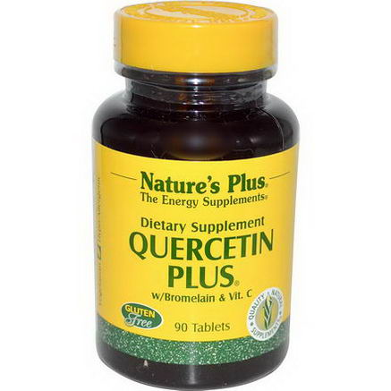 Nature's Plus, Quercetin Plus, 90 Tablets