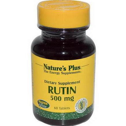 Nature's Plus, Rutin, 500mg, 60 Tablets