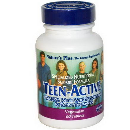 Nature's Plus, Teen-Active, 60 Tablets