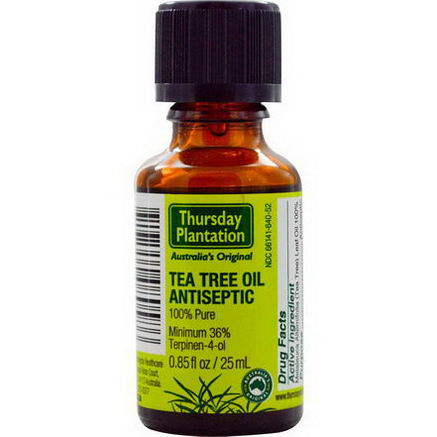 Nature's Plus, Thursday Plantation, Tea Tree Oil Antiseptic, 0.85 fl oz (25 ml)