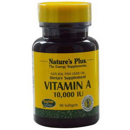 Nature's Plus, Vitamin A, 10, 000 IU, 90 Softgels