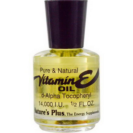Nature's Plus, Vitamin E Oil, 14, 000 IU, 1/2 fl oz