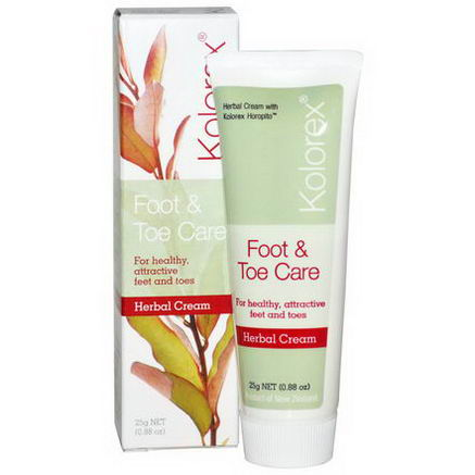 Nature's Sources, Kolorex, Foot & Toe Care, Herbal Cream, 0.88oz (25g)