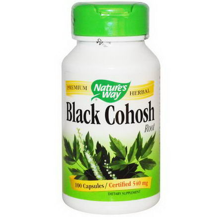 Nature's Way, Black Cohosh Root, 540mg, 100 Capsules