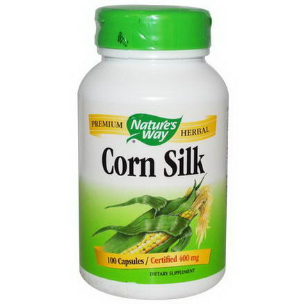 Nature's Way, Corn Silk, 400mg, 100 Capsules
