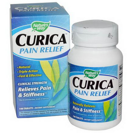 Nature's Way, Curica, Pain Relief, 100 Tablets