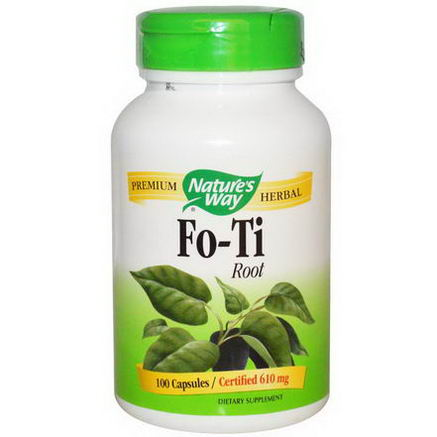Nature's Way, Fo-Ti Root, 610mg, 100 Capsules