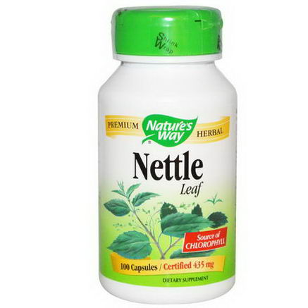 Nature's Way, Nettle Leaf, 435mg, 100 Capsules