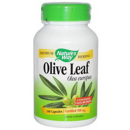 Nature's Way, Olive Leaf, 100 Capsules