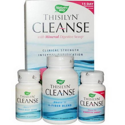 Nature's Way, Thisilyn Cleanse with Mineral Digestive Sweep, 15 Day Program