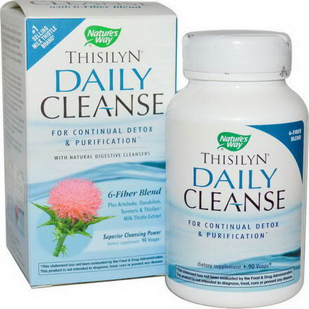 Nature's Way, Thisilyn Daily Cleanse, 90 Vcaps