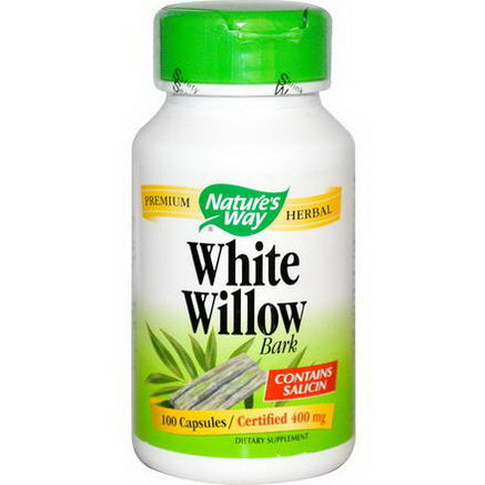 Nature's Way, White Willow, Bark, 100 Capsules