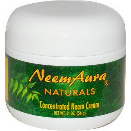 Neemaura Naturals Inc, Concentrated Neem Cream, 2oz (56g)