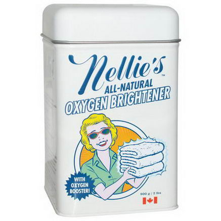 Nellie's All-Natural, Oxygen Brightener, Powder, 2 lbs (900g)