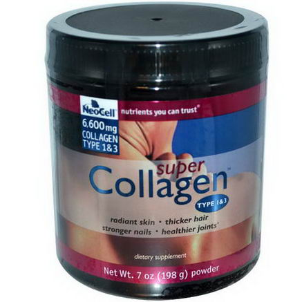 Neocell, Super Collagen, Type 1 & 3, 7oz (198g)