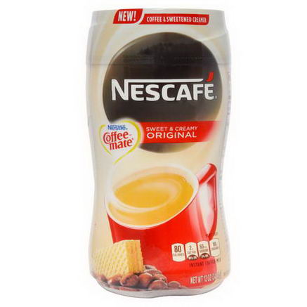 Nescafe, Nestle Coffee-Mate, Instant Coffee Mix & Sweetened Creamer, Original, 12oz (340.1g)
