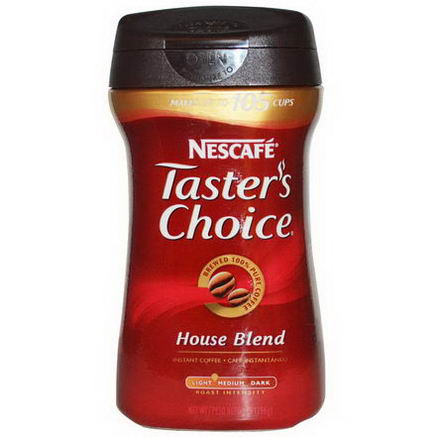 Nescafe, Taster's Choice, Instant Coffee, House Blend, 7oz (198g)