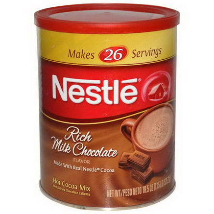 Nestle Hot Cocoa Mix, Rich Milk Chocolate Flavor, 18.5oz (525.2g)