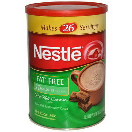 Nestle Hot Cocoa Mix, Rich Milk Chocolate Flavor, Fat Free, 7.33oz (208g)
