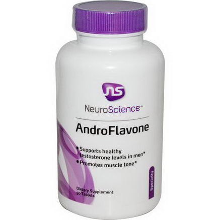 NeuroScience, Inc. AndroFlavone, 90 Tablets