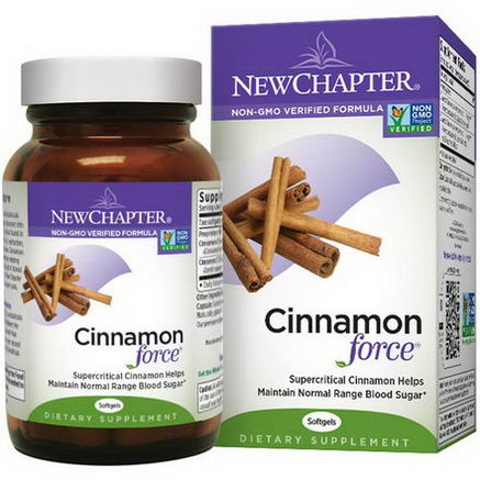 New Chapter, Cinnamon Force, 120 Softgels