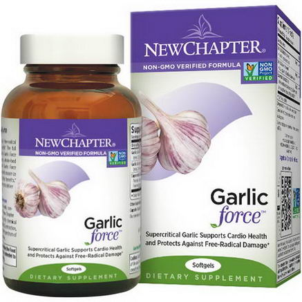 New Chapter, Garlic Force, 30 Softgels