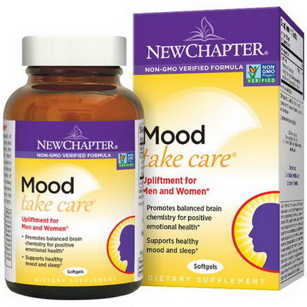 New Chapter, Mood Take Care, 30 Softgels