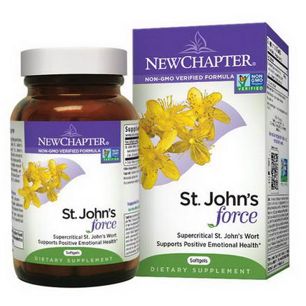 New Chapter, St. John's Force, 60 Softgels