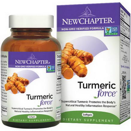 New Chapter, Turmeric Force, 120 Softgels